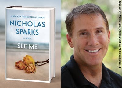 The New Nicholas Sparks Novel Is Here