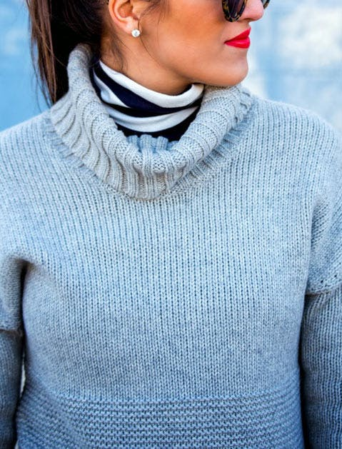 double turtleneck