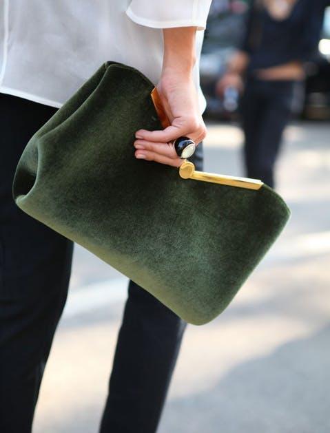 fall bags velvet clutch