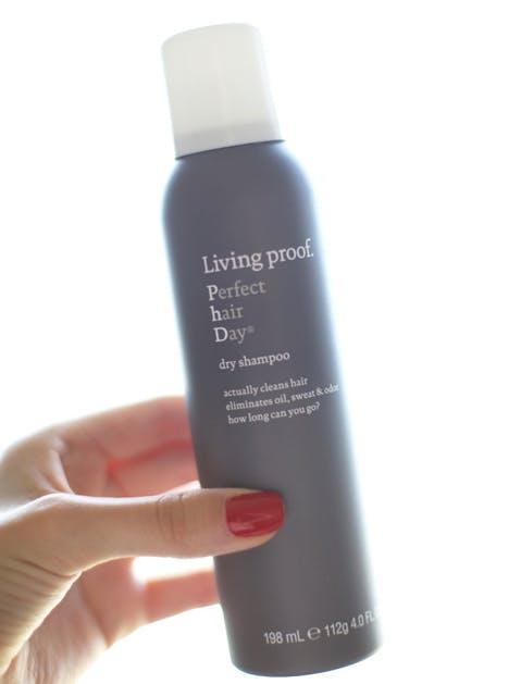 gym essentials dry shampoo