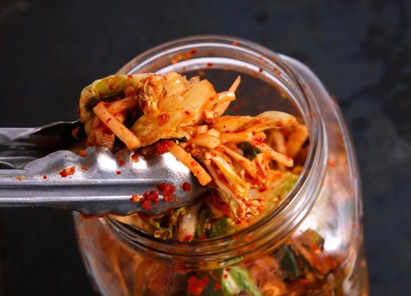 happy food kimchi