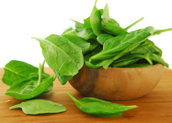 happy food spinach