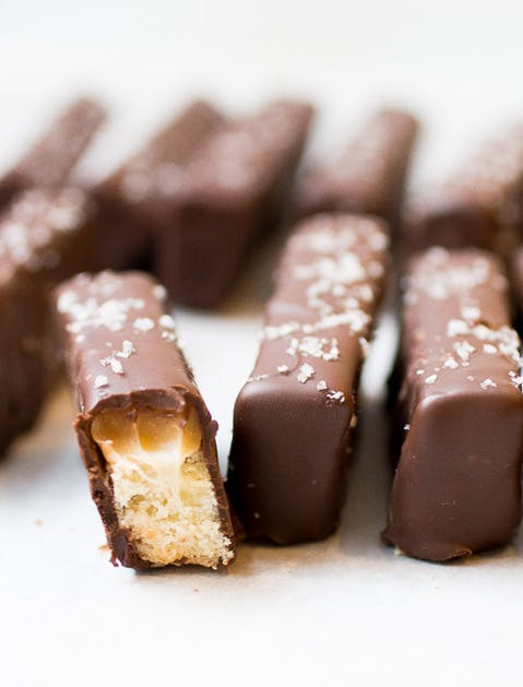 homemade candy twix