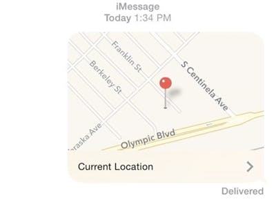The Easiest Way to Use Your Phone to Share Your Exact Location