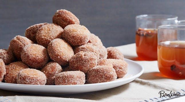 Apple-Cider Doughnut Holes