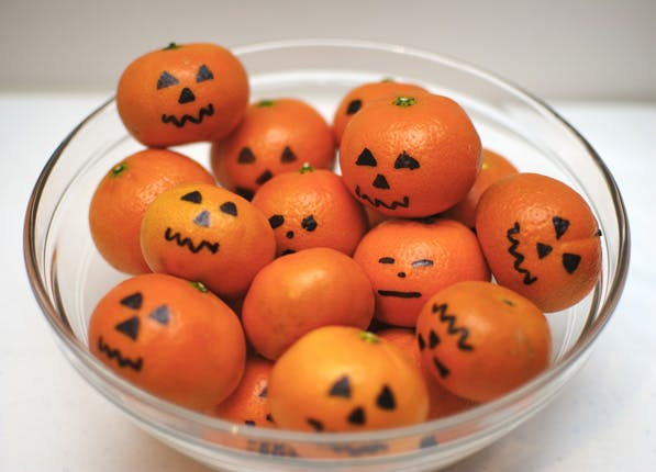 trick treat fruit