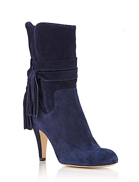 Chloe Suede Ankle Boots