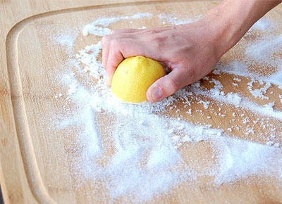 The Secret Way to Clean a Cutting Board