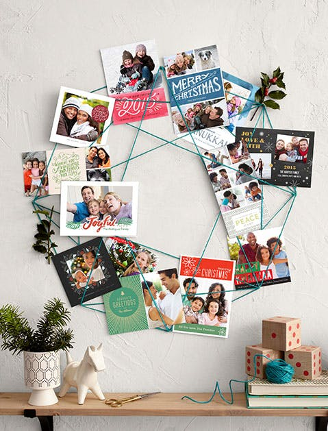 Holiday Cards Wreath