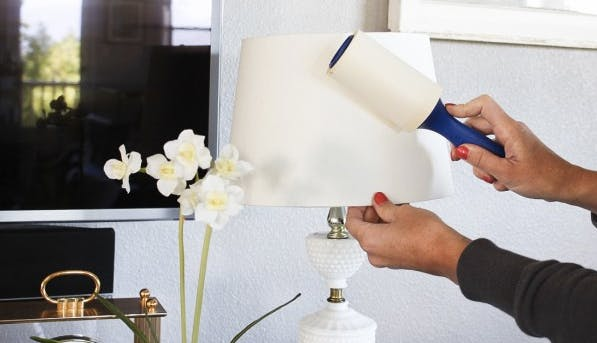 cleaninghacklampshade