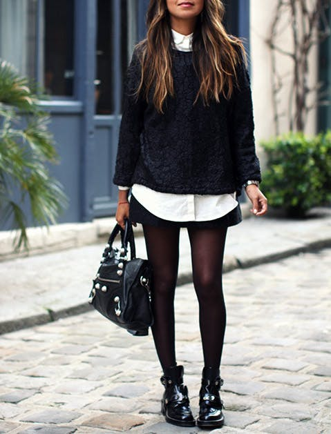 How To Wear Ankle Boots With Skirts Purewow