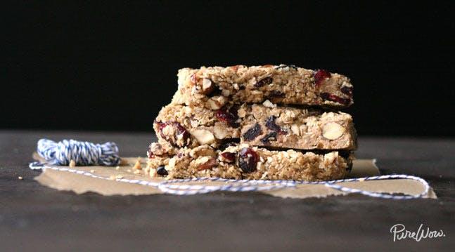 Easy Cherry-Almond Granola Bars