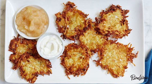 The Crispiest Potato Latkes Recipe of All Time