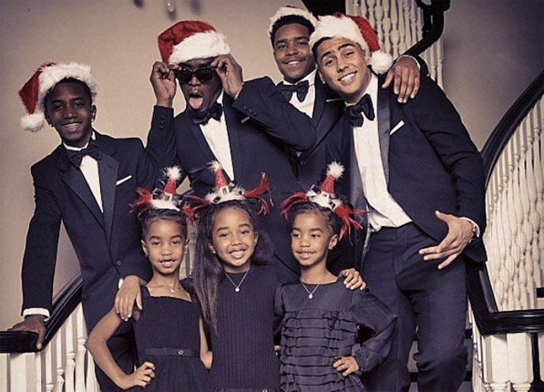 The Most Awkward Celebrity Christmas Cards Ever Purewow