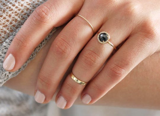 The Biggest Trend in Engagement Rings Is...Unconventional