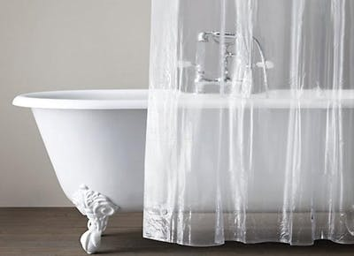 How to Clean a Moldy Shower Curtain Liner