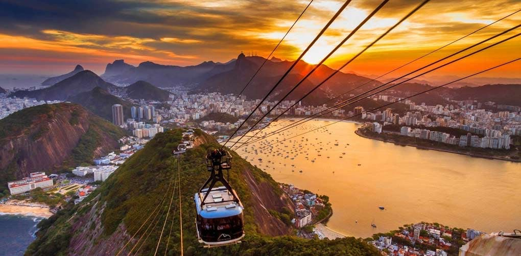sunset rio
