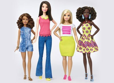 Finally! You Can Now Buy Barbies In Tall, Petite and Curvy Sizes