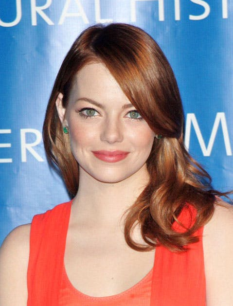 emma stone relax smile list