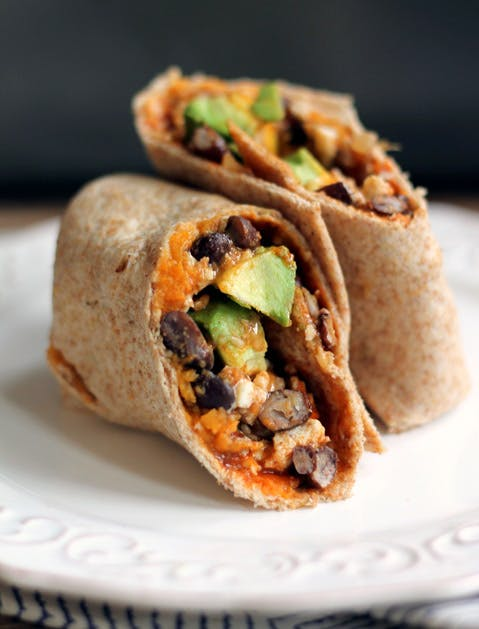 no recipe burrito