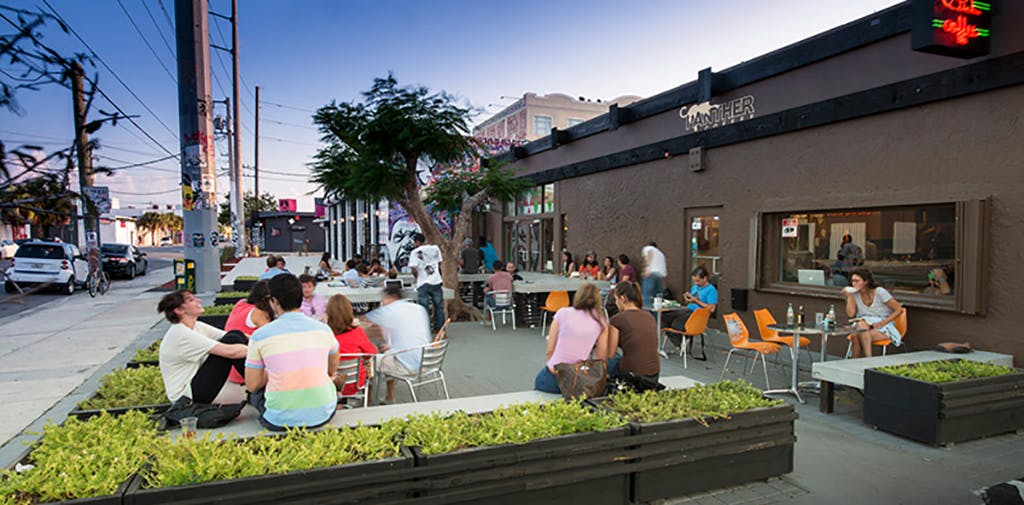 7 Wynwood Panther Coffee People Outside Seating Exterior
