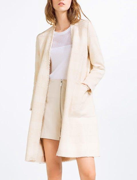 Coat white 479x629