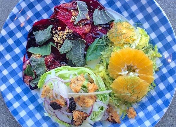 Fast Salads 597x430
