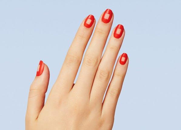 Nails Orange Square 597x430
