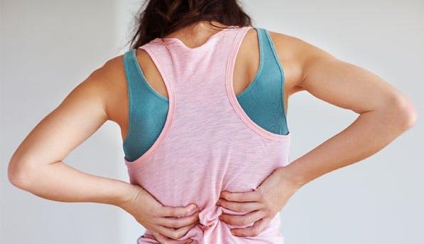 back pain list
