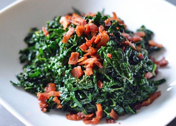 bacon Fat kale