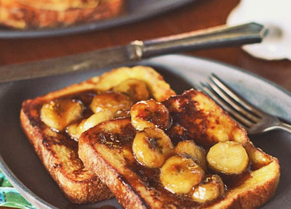 bacon fat french toast