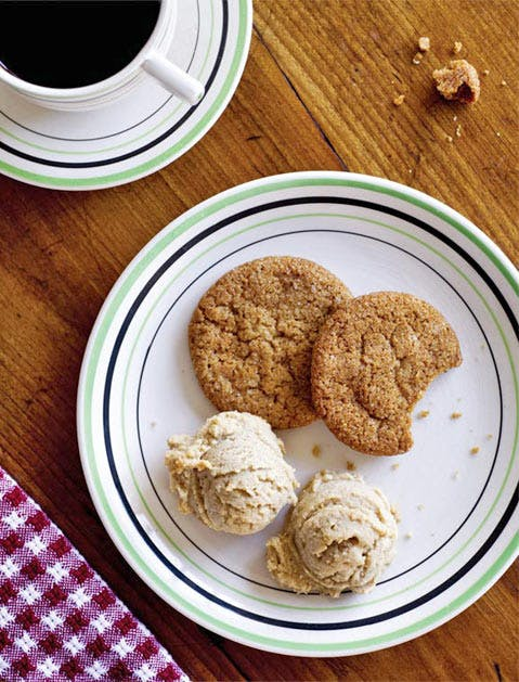 bacon fat gingersnaps