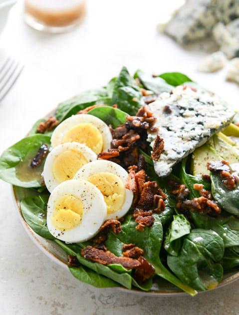 bacon fat salad