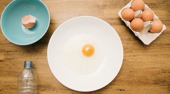 The Easiest Way Ever to Separate Egg Yolks