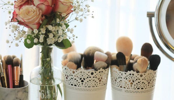 makeup brushes list