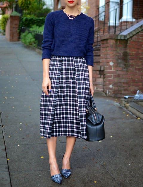 midi skirt list