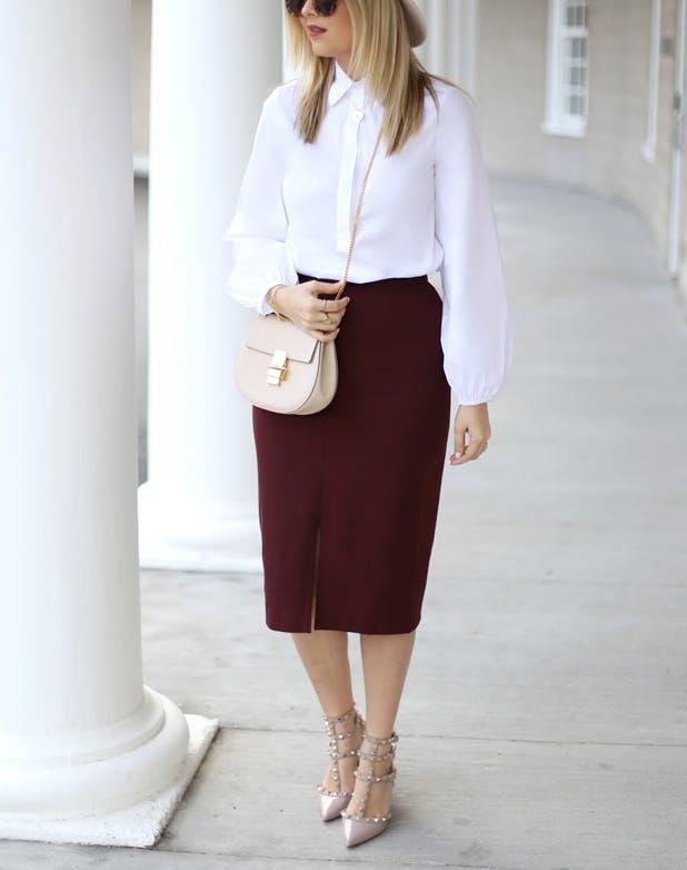 muffintop skirt