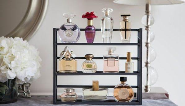 perfume rack list