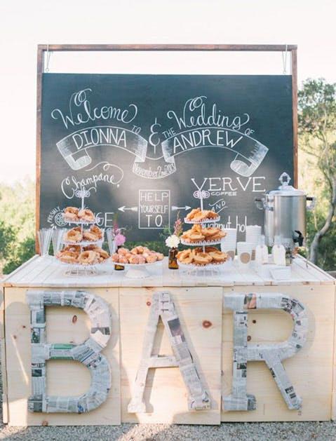 wedding trends brunch