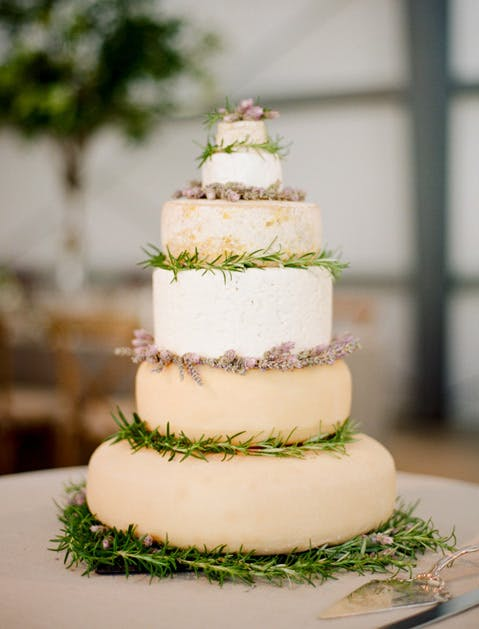 wedding trends cheese