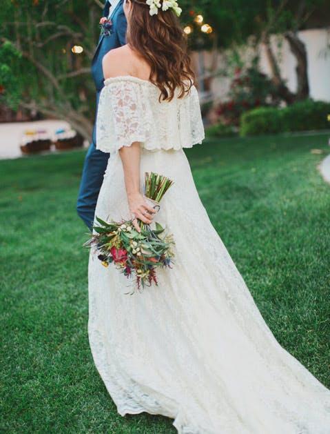 wedding trends offshoulder