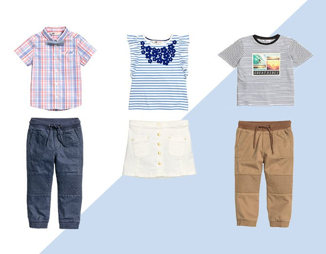 5 Perfect Outfits for Little Kids Busy Lives