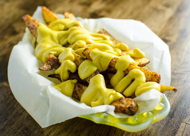 blender nachos