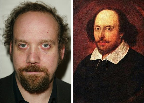 celeb dopplegangers shakespeare