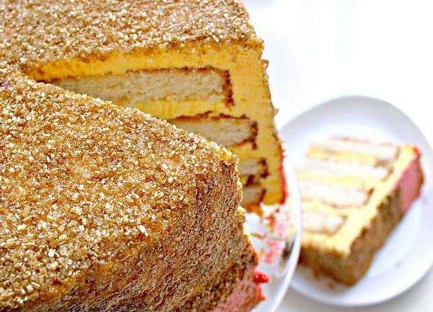 glitter cake2