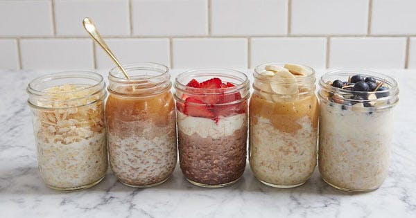 5 Overnight Oats Recipes That'll Make Your Mornings Suck Less