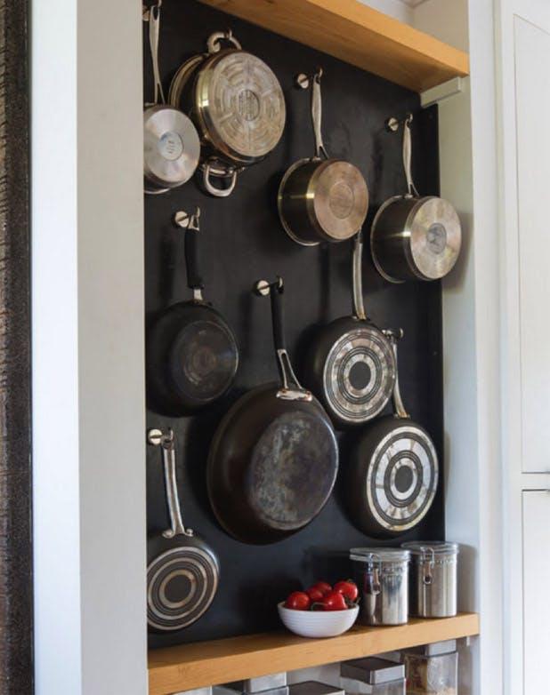 Creative Pots And Pans Storage Diy Kitchen Storage Purewow