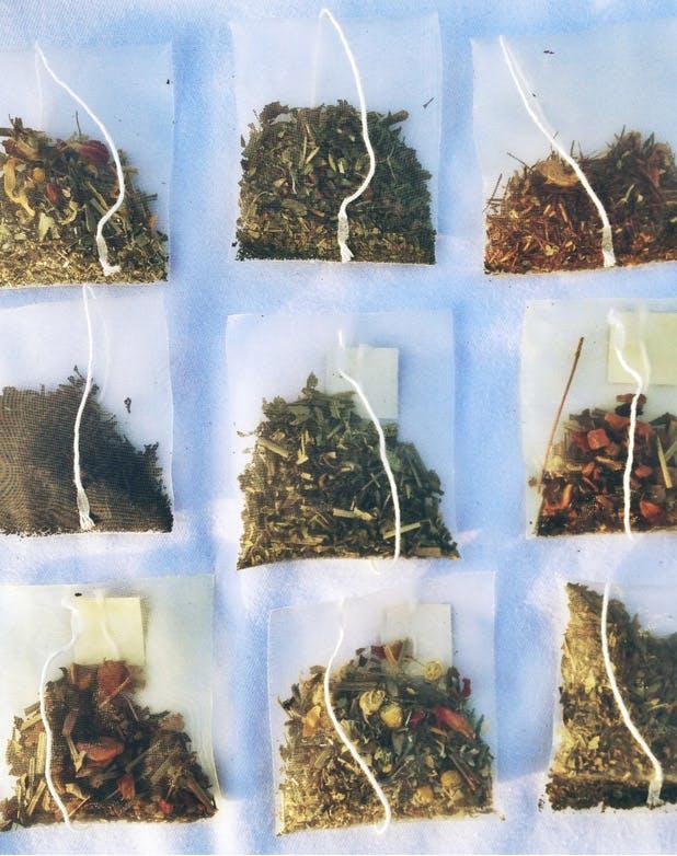 tea bag list