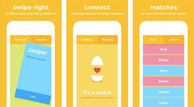 Well, Theres Now a Tinder for Picking Baby Names