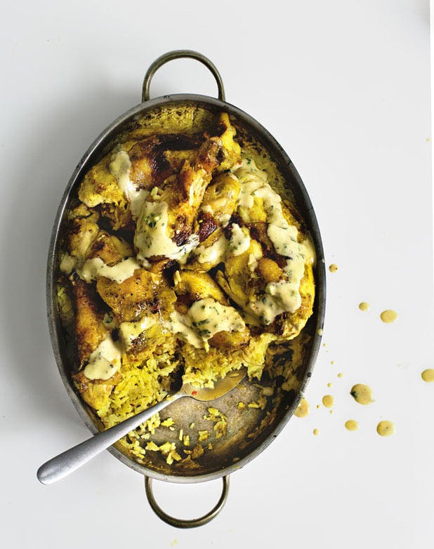 turmeric butterchicken